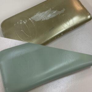 CARTIERのお財布のカラーチェンジ